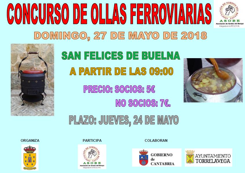 CONCURSO DE OLLAS FERROVIARIAS DE ASOBE