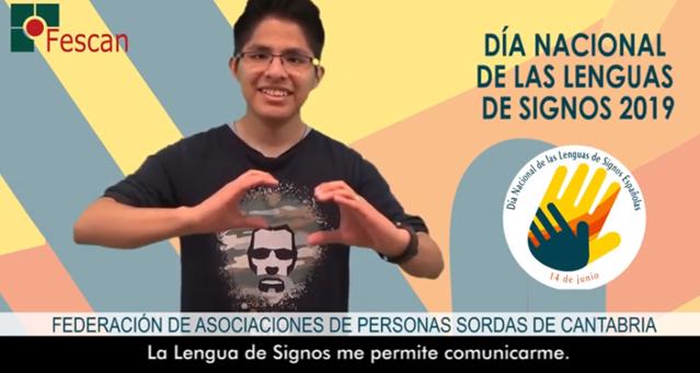 DÍA NACIONAL DE LAS LENGUAS DE SIGNOS ESPAÑOLAS 2019
