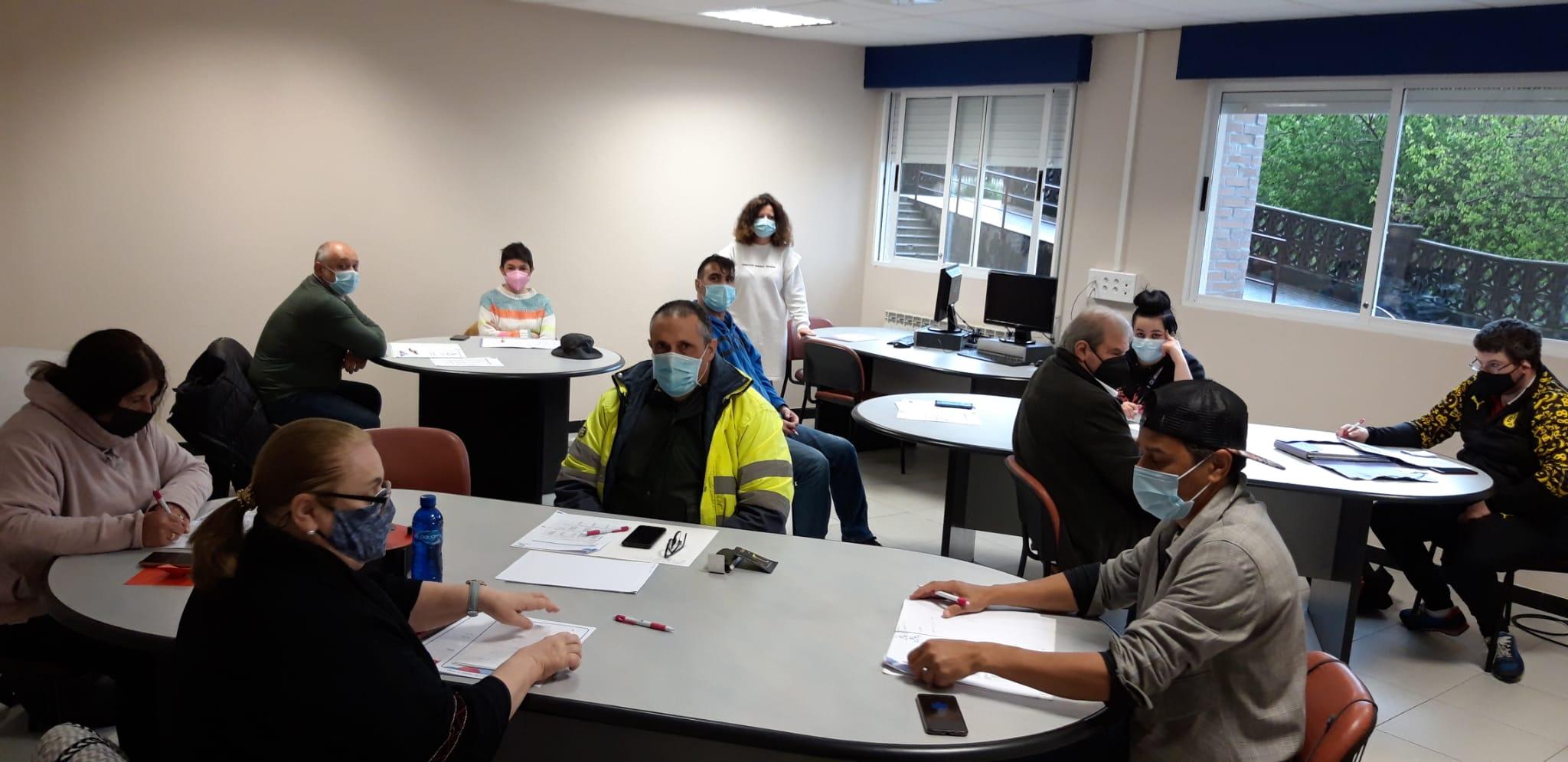 Curso de Atención a la Ciudadanía dentro del proyecto AME