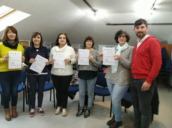 CURSO DE LENGUA DE SIGNOS EN EL AYUNTAMIENTO DE LOS CORRALES DE BUELNA