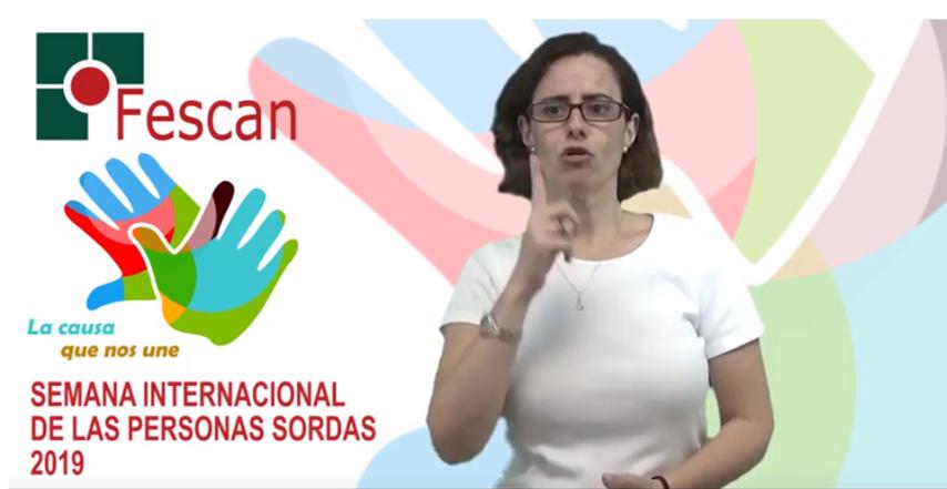CELEBRACIÓN DEL DÍA INTERNACIONAL DE LAS PERSONAS SORDAS 2019 EN CANTABRIA