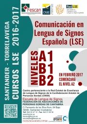 FESCAN Cartel  Cursos LSE A1B1B2 2016-17