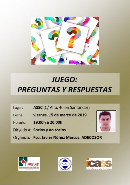 2019-03-15 Cartel JUEGO PREGUNTAS Y RESPUESTAS ASSC