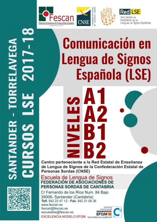FESCAN Cartel  Cursos LSE A1A2B1B2 2017-18