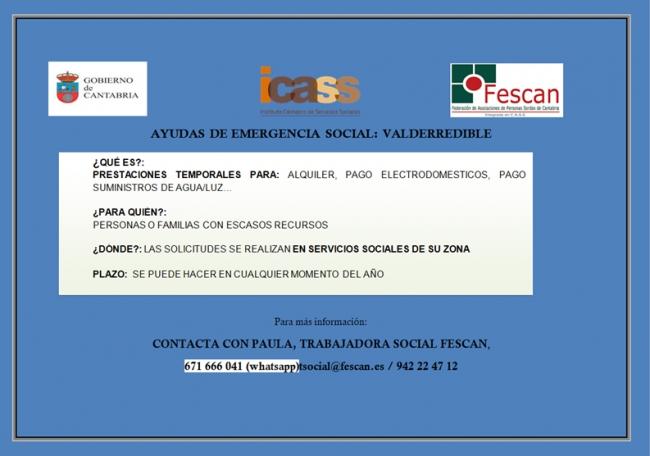 ayudas emergencia social valderredible 2019