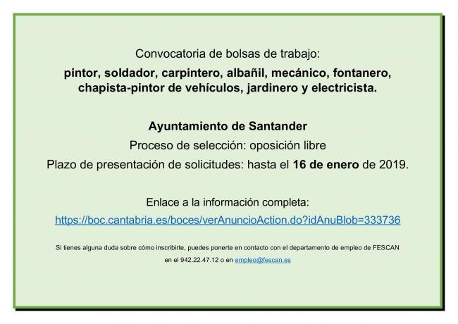 Bolsas Santander