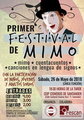 PRIMER FESTIVAL DE MIMO