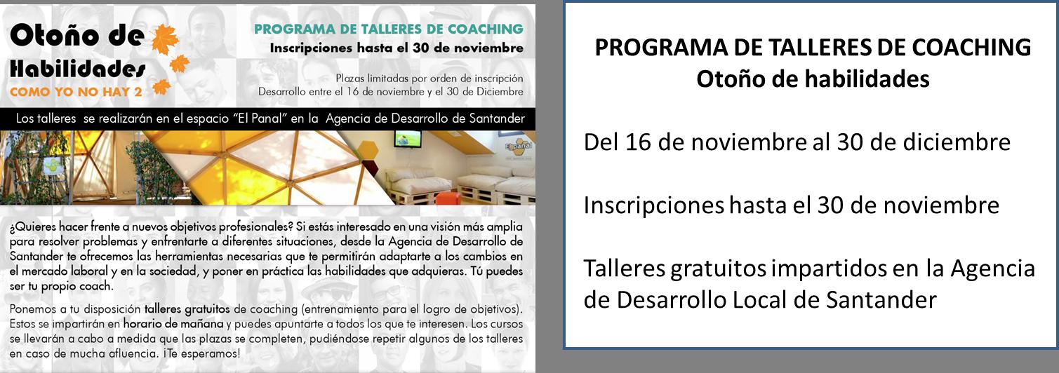 Talleres de Coaching impartidos por la ADL de Santander