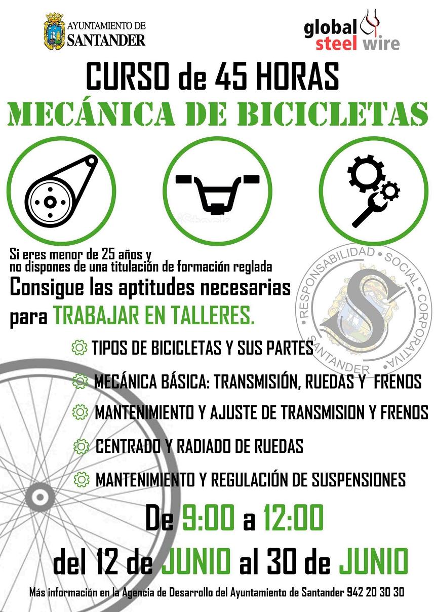 Curso de Mecánica de Bicicletas