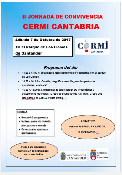 II Jornada de Convivencia CERMI Cantabria