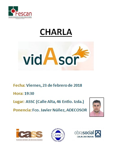 CHARLA SOBRE EL PROGRAMA VIDASOR