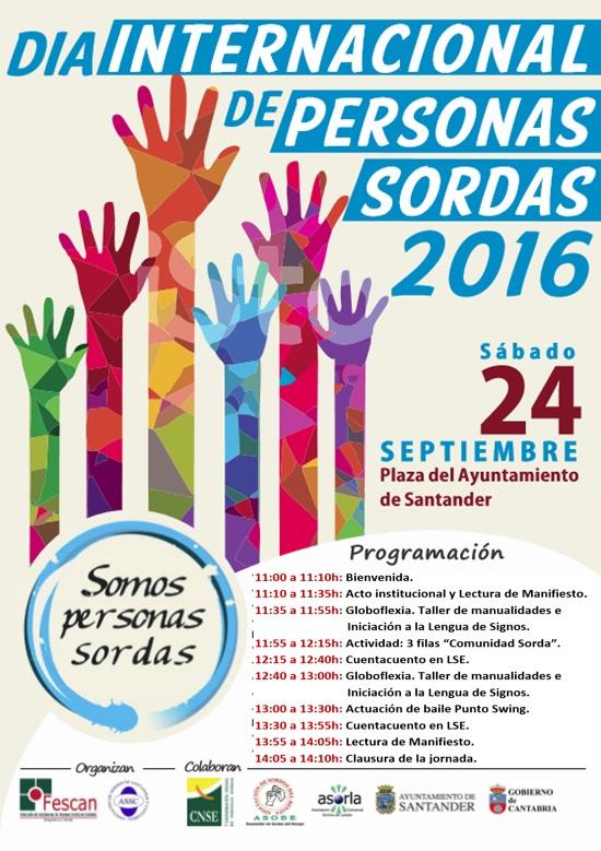 DÍA INTERNACIONAL DE LAS PERSONAS SORDAS 2016