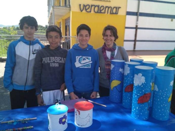 Visitamos el Mercado de Cooperativas del colegio Verdemar.