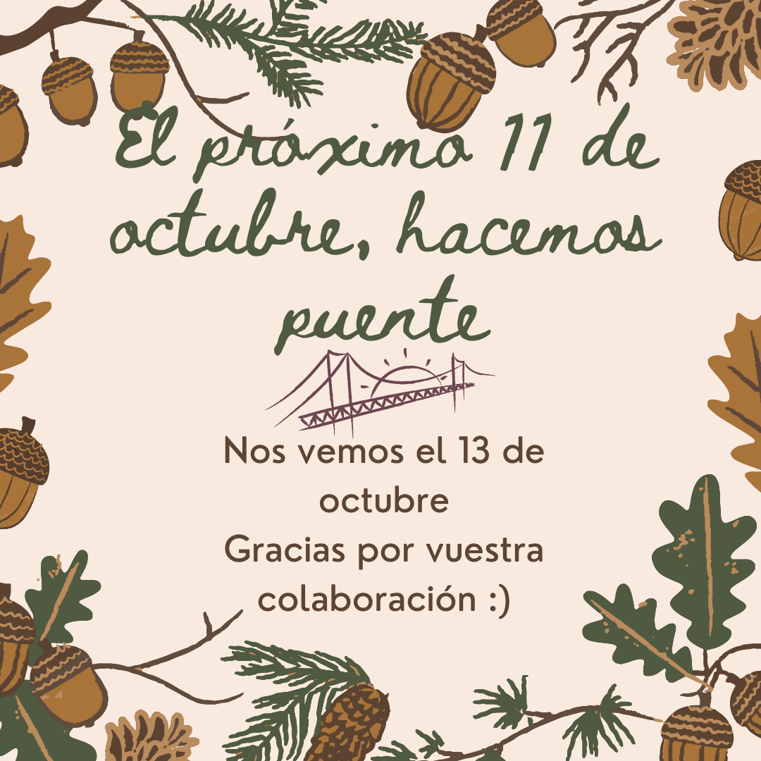 AVISO: EL LUNES 11 FESCAN PERMANECERÁ CERRADO