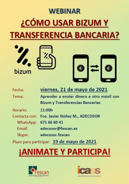 2021-05-21 Cartel BIZUM Y TRANSFERENCIA BANCARIA